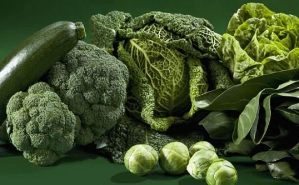 Zöld Zöldségek minden mennyiségben